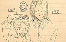 リエーフと研磨の身長交換の画像(hqピクに関連した画像)