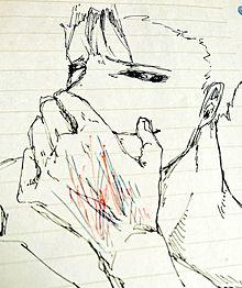 島崎落書き プリ画像