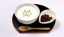 クルミお汁粉ミルクラテの画像(お汁粉に関連した画像)