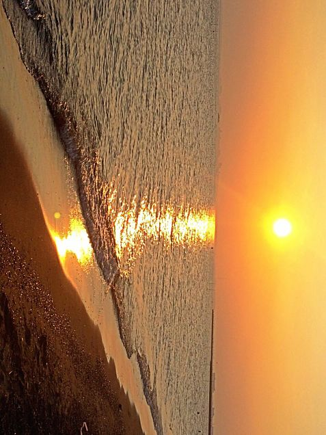 夕暮れの海の画像 プリ画像