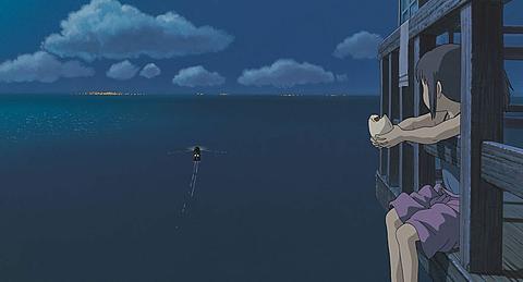 雨は海になり、月や星の光を反射する。の画像(プリ画像)