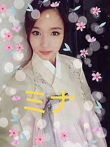 ミナのチマチョゴリ姿の画像(マチに関連した画像)