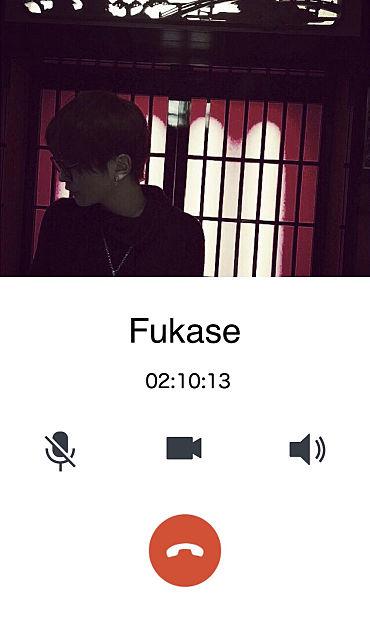 SEKAI NO OWARI Fukase 電話風の画像 プリ画像