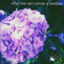 after the rain comes a rainbowの画像(プリ画像)