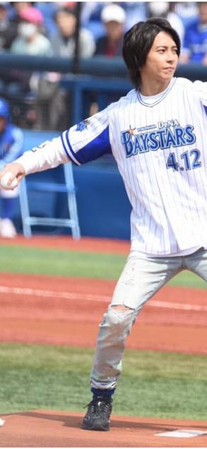 4月7日野球始球式 山下智久の画像 プリ画像