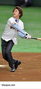 亀梨和也 野球始球式の画像(始球式に関連した画像)
