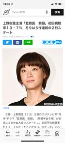 上野樹里 月9ドラマ 視聴率13.7%の画像(視聴率に関連した画像)
