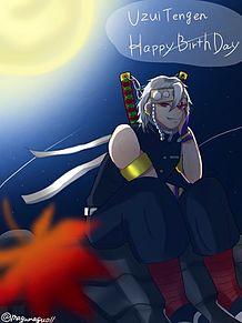宇髄天元Happy  birthdayの画像(鬼滅の刃 柱 宇髄天元に関連した画像)