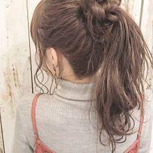 ⚘ 女 の 子の画像(ヘアアレンジに関連した画像)