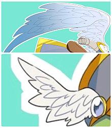 翼の画像(デジタルに関連した画像)