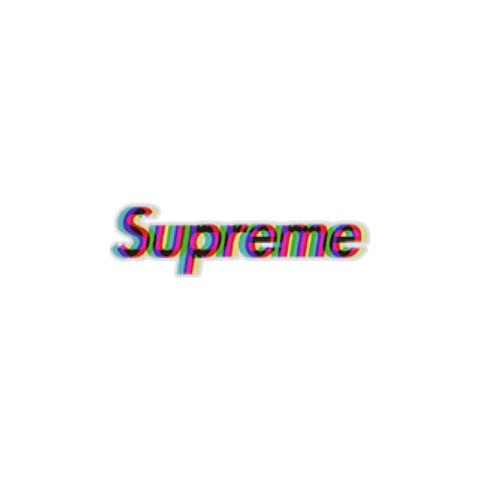 supreme おしゃれ かわいい 二重文字の画像(プリ画像)