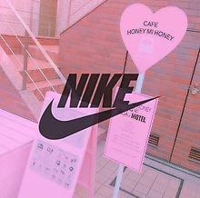NIKE ロゴ バス停 おしゃれ オルチャンの画像(Supreme/韓国/オルチャンに関連した画像)