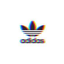 adidas 可愛い 二重 グラデーション ぼかしの画像(かわいい/ゆるかわ/ゆめかわに関連した画像)