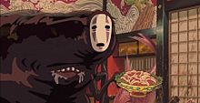 カオナシ ジブリ スタジオジブリ ジブリ壁紙の画像(スタジオジブリに関連した画像)