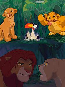 ライオンキング プリ画像