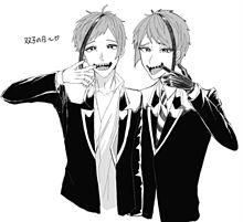 双子の日〜!の画像(twstファンアートに関連した画像)