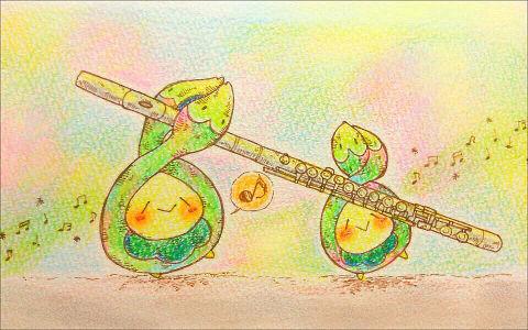 私の大好きなフルートと音楽関係、吹奏楽関係の画像💜の画像(プリ画像)