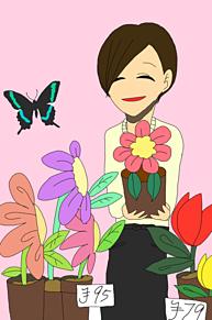 お花やさんの画像(プリ画像)