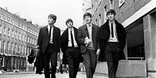 The Beatles モノクロ◻◼の画像(BEATLESに関連した画像)