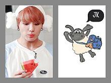 BTS トレカ JUNGKOOKの画像(羊に関連した画像)