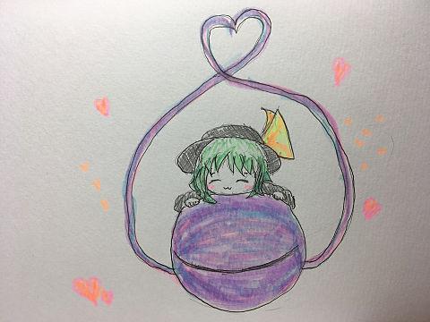 落書きこいしちゃん!の画像(プリ画像)