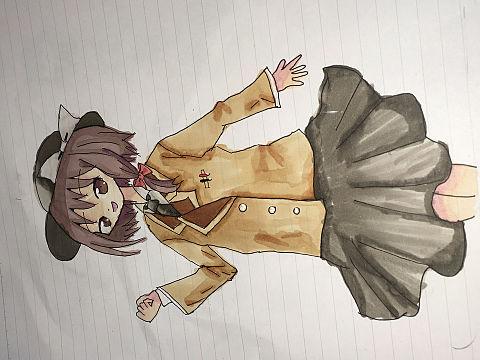 蓮子さんにコート着せてみた。(完成)の画像(プリ画像)