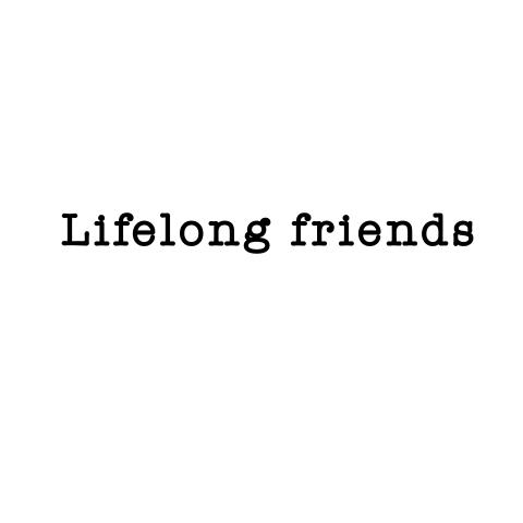 一生の友達 という意味です( ᐡ.  ̫ .ᐡ )の画像(プリ画像)