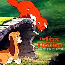 狐と猛犬の画像(プリ画像)