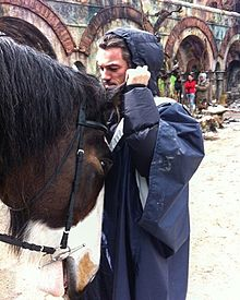 the Hobbit Bard Luke Evansの画像(ホビットに関連した画像)