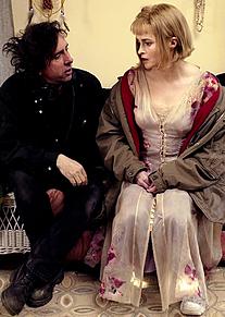 Tim Burton Helena Bonham Carterの画像(ヘレナボナムカーターに関連した画像)