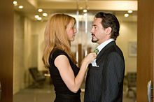 iron man Tony Stark Pepper Pottsの画像(グウィネスパルトローに関連した画像)