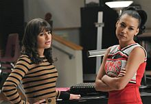 glee Rachel Berry Santana Lopezの画像(レイチェルに関連した画像)