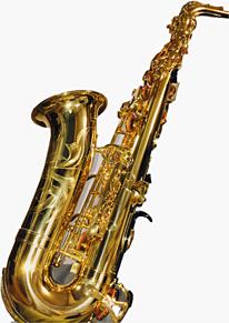 アルトサックスの画像(吹部に関連した画像)