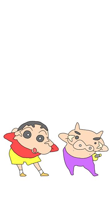 クレヨンしんちゃん iPhone壁紙