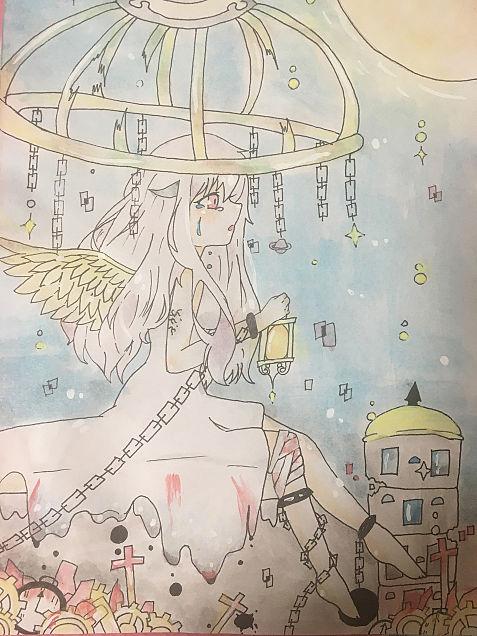 天使の悲しみの画像(プリ画像)