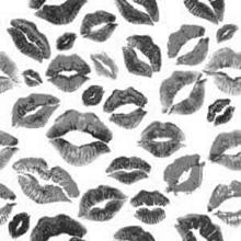 キスマーク ブラック 黒色の画像(ギンガムチェックに関連した画像)