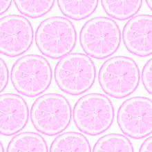 レモン断面 紫色 パープルの画像(プリ画像)