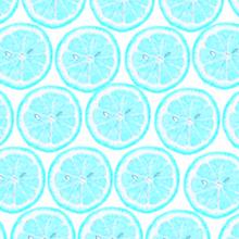レモン断面 青色 水色 スカイブルーの画像(プリ画像)