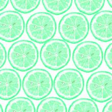 レモン断面 緑色 ミント グリーンの画像(プリ画像)