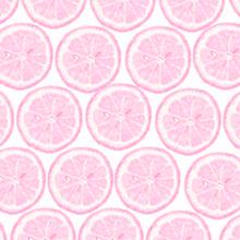レモン断面 桃色 ピンクの画像(プリ画像)