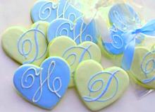ハートクッキー 青色 水色 スカイブルーの画像(スカイブルーに関連した画像)