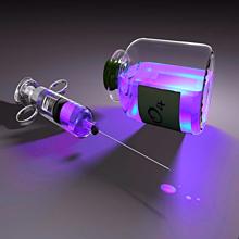 注射器 薬 紫色 パープルの画像(プリ画像)