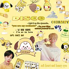 チミー ジミン 黄色 BTS DISCOの画像(ミーに関連した画像)