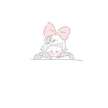 シンプルパステルゆめかわいいかわいいジブリ魔女の宅急便すきの画像(魔女の宅急便に関連した画像)