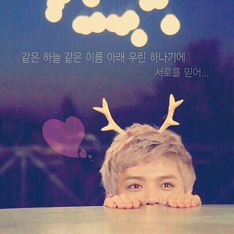 EXO*歌詞画→の画像 プリ画像