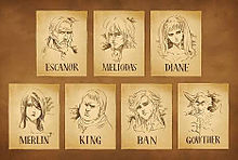 七つの大罪 プリ画像