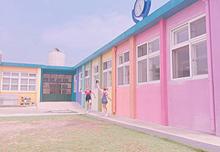 韓国可愛い♡の画像(カラフル 背景 オシャレに関連した画像)