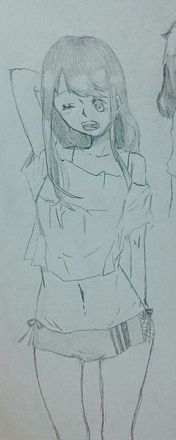 眠そうな女の子の画像(プリ画像)