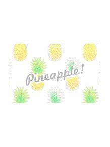 パイナップル プリ画像