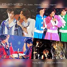 ➶➶ KIS-MY-WORLD プリ画像